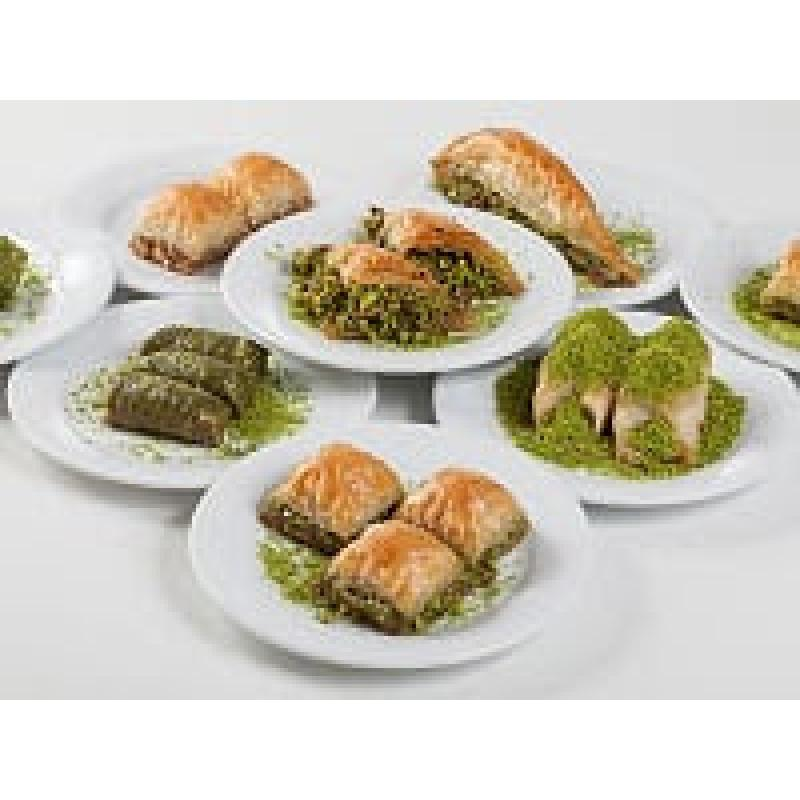 Mixed baklava and Arabic sweet